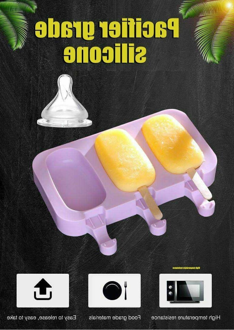 Popsicle Molds Ice Home Kitchen