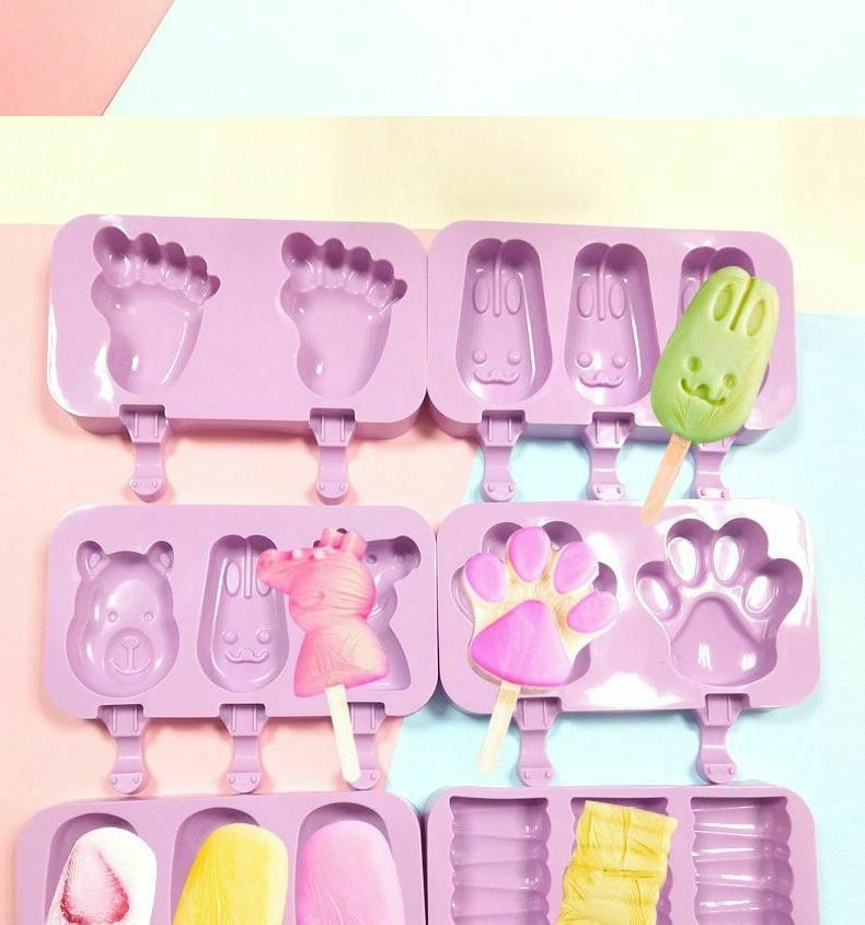 Popsicle Molds Homemade Ice Kitchen Tools Accessories