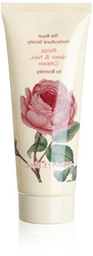 Bronnley Rose Hand and Nail Cream Tube 100ml by Bronnley