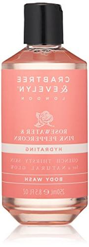 Crabtree & Evelyn Rosewater & Pink Peppercorn Body Wash, 8.5