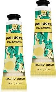Bath and Body Works 2 Pack Sparkling Limoncello Hand Cream.