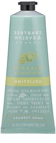Crabtree & Evelyn Pear & Pink Magnolia Uplifting Hand Therap