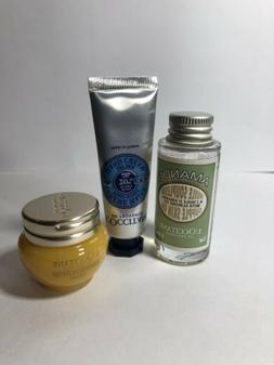 L'Occitane Travel Set/Amande Huile Souplesse Skin Oil/Divine