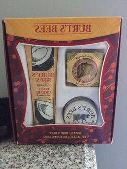 NEW!  Best of Burt's Bees Gift Set Kit Hand Foot Cuticle Cre