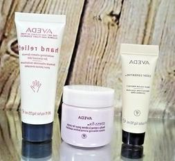NEW AVEDA LOT STRESS FIX BODY CREME, HAND RELIEF, COLOR CONS
