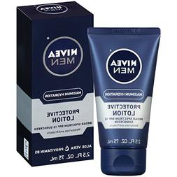 NIVEA Men Maximum Hydration Protective Lotion SPF 15, 2.5 Fl