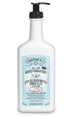 J.R. Watkins Rejuvenating Peppermint Foot and Body Lotion