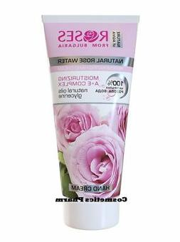ROSES REGENERATING HAND CREAM, RICH HYDRATION WITH PURE ROSE
