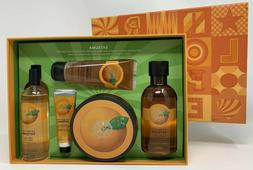 satsuma collection shower gel body butter polish