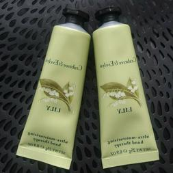 SET/2 CRABTREE & EVELYN LILY TRAVEL SIZE Hand Therapy .9 oz