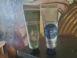 Set of 2 L'Occitane  Hand Cream  10mL each AMANDE EN PROVENC