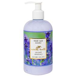 Camille Beckman Silky Body Cream, English Lavender, 13 Ounce