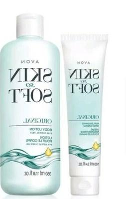 Avon Skin So Soft Original Moisturizing Body Lotion & Hand C
