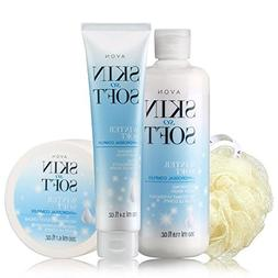 Avon Skin so Soft Winter Soft 4pc Set