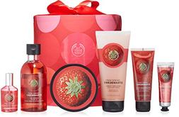 The Body Shop Strawberry Deluxe Gift Set