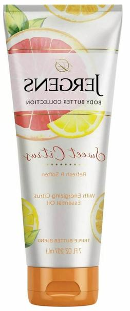 Jergens Sweet Citrus Butter Hand and Body Lotion - 7 fl oz