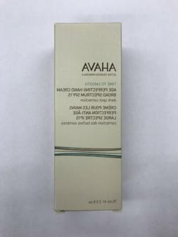 AHAVA Time to Smooth Age Perfecting Hand Cream SPF 15 75ml/2