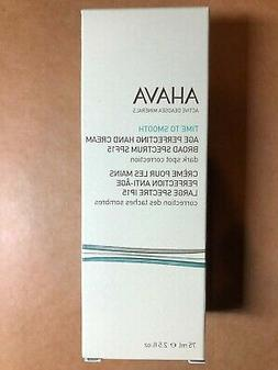 AHAVA -Time To Smooth Age Perfecting Hand Cream Broad Spectr