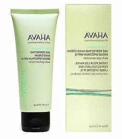 Ahava Time to Smooth Age Perfecting Hand Cream SPF15 2.5 fl.