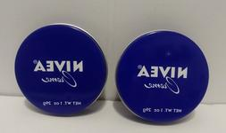 TWO Nivea Creme Face Body Hands Cream Moisturizer for Dry Sk