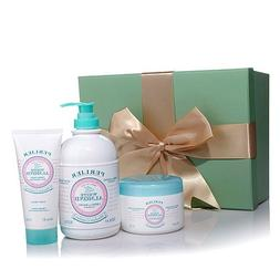 Perlier White Almond Absolute Comfort Gift Set with Gift Box